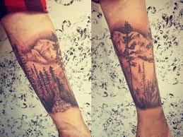 тату деревья 64 фото татуировок на разных частях тела