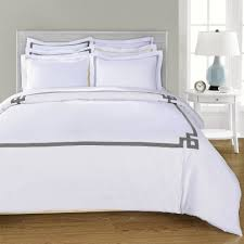 simple luxury miller 3 piece duvet cover set reviews wayfair