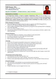 Free Curriculum Vitae Template Free Curriculum Vitae Resume Template Free Resume Templates 24