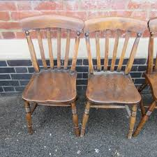 slat back chairs. Related Antiques. FIVE ANTIQUE GEORGIAN MAHOGANY DINING CHAIRS Slat Back Chairs