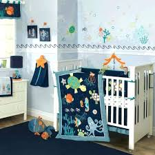whale anchor baby bedding boy crib set navy and mint nautical whales sets