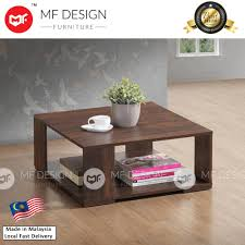 mf design tina coffee table 2018 diy brown modern brown white scandinavian ikea