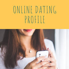 write a great profile for online dating