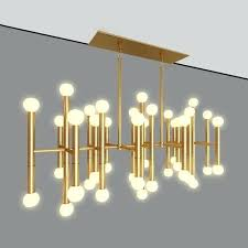 rectangular chandelier designed by model max obj 1 meurice jonathan adler