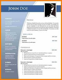 Resume Format Free Download In Ms Word Download Cv Template Word ...