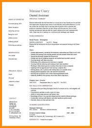 dental assistant resume objectives resume examples dental assistant dental assisting resume templates