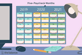 Months In Which You Receive 5 Paychecks From 2019 2029