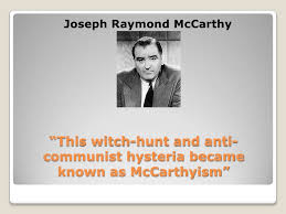 mccarthyism the crucible