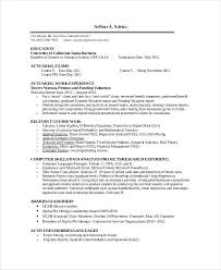 Resume Template For Internship – Foodcity.me