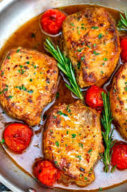 skillet pork chops 30 minutes only