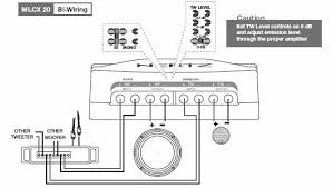 is bi wiring a 2 way front with a 4 ch amp tweeter wiring diagram Tweeter Wiring Diagram #40 Tweeter Wiring Diagram
