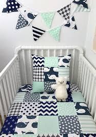 baby boy blanket nursery decor minky