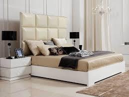 elegant white bedroom furniture. large size of bedroom:awesome modern white bedroom furniture with wonderful beige leather headboard bed elegant