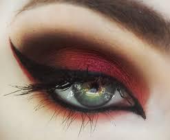 red eyeshadow tutorial you