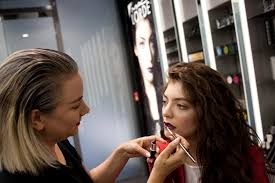 lorde launches her mac cosmetics line at britomart auckland