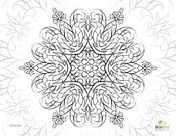 Stress Relief Coloring Pages Christmas Mandala And Books For Book