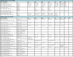 Polaris Snowmobile Belt Chart 22 Studious Arctic Cat Helmet Sizing Chart