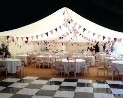 Diy Outdoor Dance Floor Marquee Hire Wedding Lighting Ideas Portable