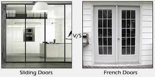 between sliding doors vs french doors