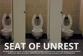 elementary school bathroom. Over Seat Elementary School Bathroom Door Of Unrest Inside Transgender Studentsu War Hygiene Posters Kids S