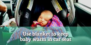 tips on how to keep baby warm in car seat