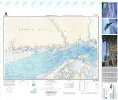 Bathymetric Nautical Chart F 99 New Haven