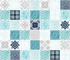 Moroccan Tile Pattern Adorable Moroccan Tile Pattern Grid In Silver Fabric Adenaj Spoonflower