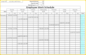 Work Schedule Calendar Template Two Week Work Schedule Template Two Week Schedule Template