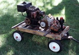 small generator motor. Dan Says: \u201cIt Is Made From A 6 Horsepower Tecumseh Engine And 1  3450 Rpm Induction Motor. I Had The Gas Frame That Been Given To Small Generator Motor D