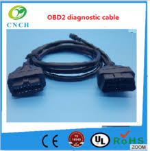 electronic equipment wiring harness electronic equipment wiring obdii splitter cable obd2 cable for car diagnostic system