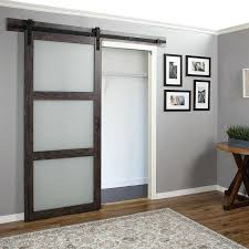 interior sliding barn door. Sliding Glass Barn Door Interior Doors Wood More R