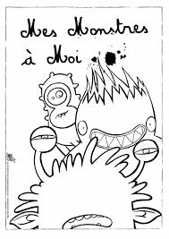 Coloriage Monstres De La Maison Sur Hugolescargot Com