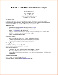 Network Security Administrator Sample Resume Cover Letter Junior Network Administrator Resume Junior Network 24