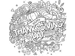 Small Picture Print Thanksgiving Coloring Pages