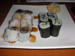 my favorite food sushi floating in dreams avocado mango sushi