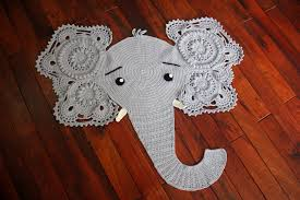 Elephant Rug Crochet Pattern Inspiration Elephant Rug Crochet Pattern For Free Best Of Fancy Free Crochet Rug