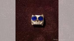 <b>Кольцо</b> серебро 925 <b>сова с эмалью</b> купить в Москве на Avito ...