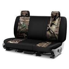 coverking mossy oak 2nd row two tone break up infinity custom seat