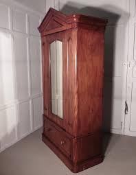 vintage antique furniture wardrobe walnut armoire. Victorian Mahogany Single Wardrobe Vintage Antique Furniture Walnut Armoire