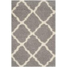 safavieh dallas gray ivory 6 ft x 9 ft area rug
