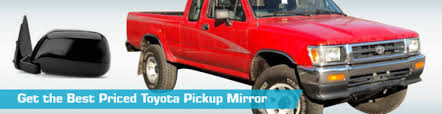 Toyota Pickup Mirror - Side View Mirrors - Action Crash CIPA Dorman ...