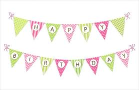 free happy birthday template birthday banners free artistic quilt