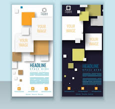 brochure cover templates modern design squares decoration