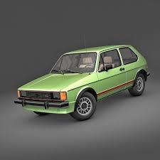volkswagen rabbit. volkswagen rabbit gti 1984 3d model volkswagen e