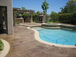 Stained Concrete Patio Pictures Everything Home Design Amazing