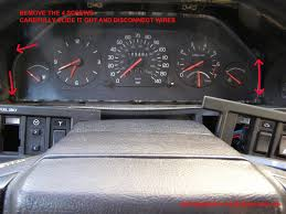 electrical instruments 700, 900, 90 series 240 Wiring Diagram 1984 Volvo at Volvo 240 Instrument Cluster Wiring Diagram