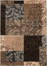 balta radiance collection decorative area rug 5 3 x 7 2 at menards pertaining to rugs
