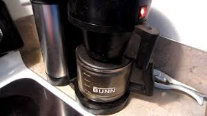 How to FIX a Bunn coffee maker that starts brewing BEFORE you pour the  water in! - YouTube