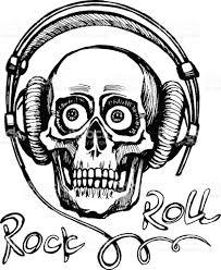 Drawn headphone line art 16