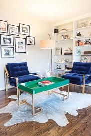 blue velvet milo baughmann chairs